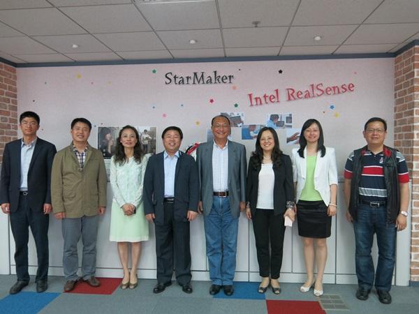 104.05.08 南京市麒麟科技創新團參訪