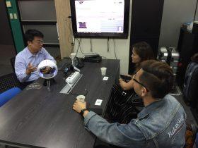 107.11.14 菲律賓QBO Innovation Hub總監Katrina Chan 參訪育成中心 & 方碼科技