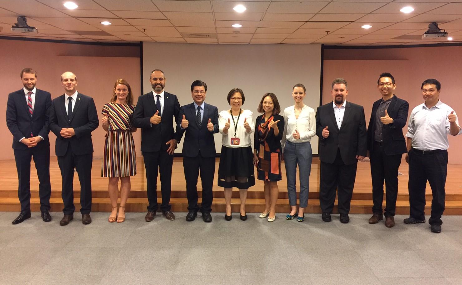 2019.9.19 捷克國家投資局參訪南港軟體育成中心